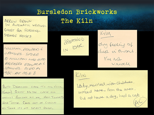 Bursledon Brickworks Incident board Incident board