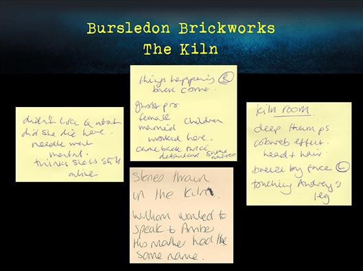 Bursledon Brickworks Incident board Incident board