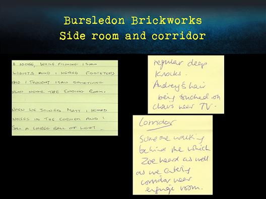 Bursledon Brickworks Incident board