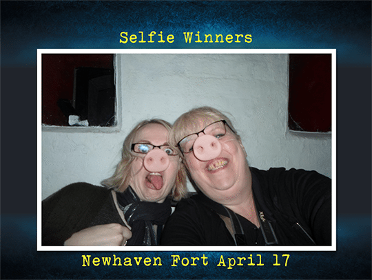 Mugshot winners Newhaven Fort April 17
