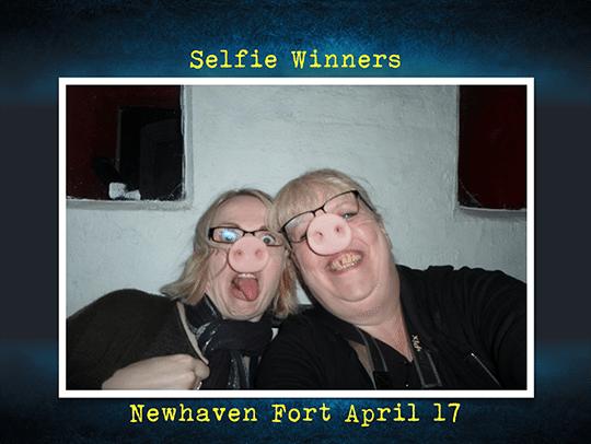 Mugshot winners Newhaven Fort April 17