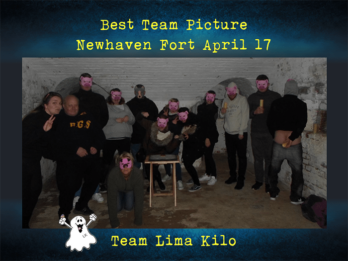 Team Lima Kilo Newhaven April 17