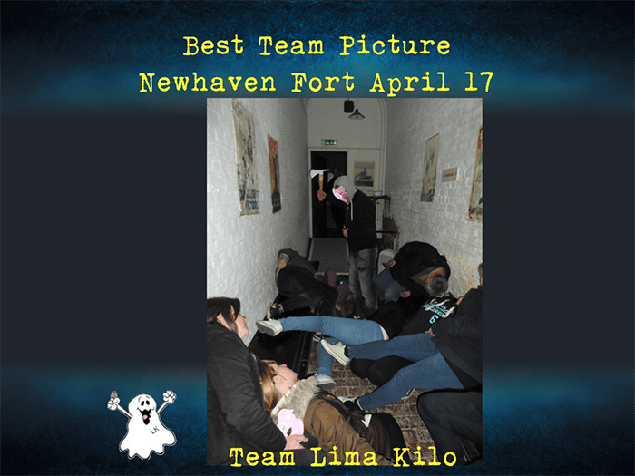 Team Lima Kilo team picture winners Newhaven Fort April 17