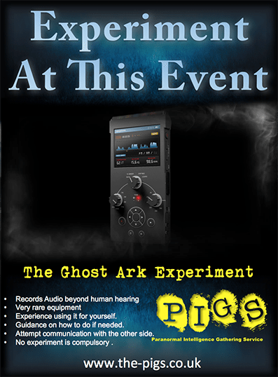 Ghost Ark experiment poster 397 538