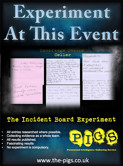 Incident board experiment poster 397 538