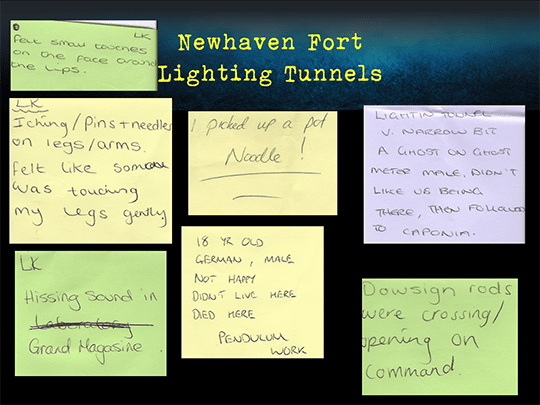 Newhaven Fort Lighting Tunnels 540-404