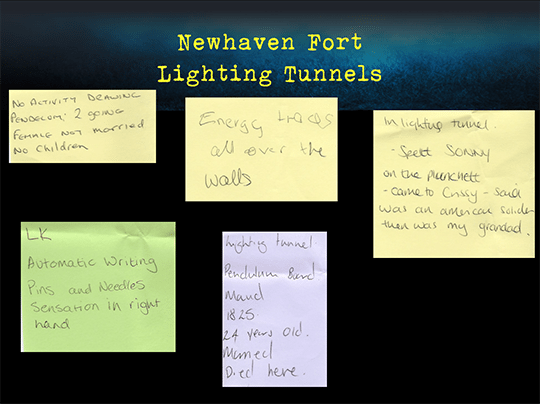 Newhaven Fort Lighting Tunnels2 540-404