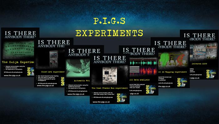 P.I.G.S experiments