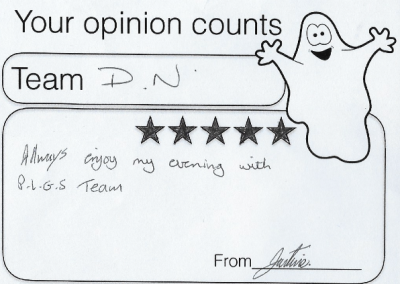 The Stag guest feedback